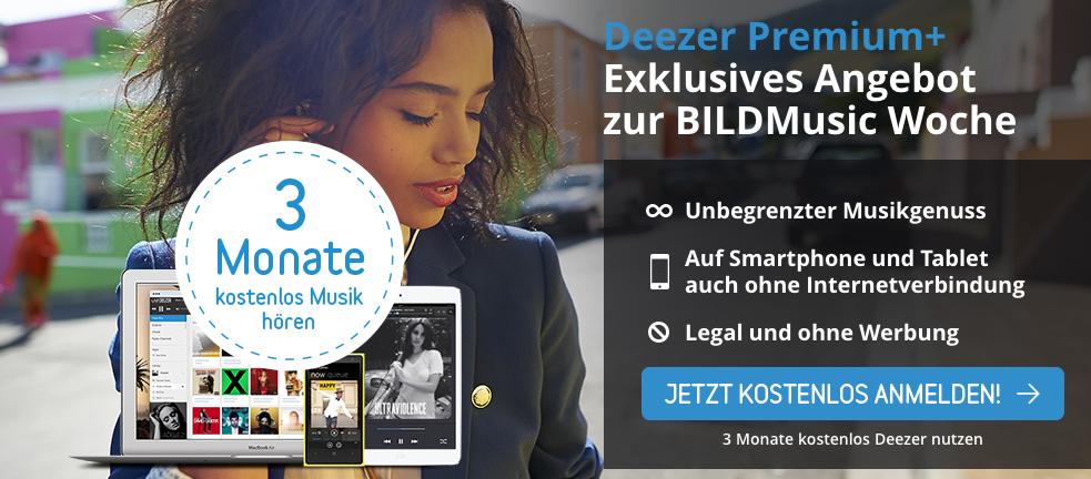 Deezer Premium+ für 3 Monate kostenlos nutzen über Bild