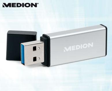 Medion USB 3.0 Stick (64 GB, bis zu 115 MB/s) um 19,99 € - bis zu 27% sparen [ab/am 22.1.2015]