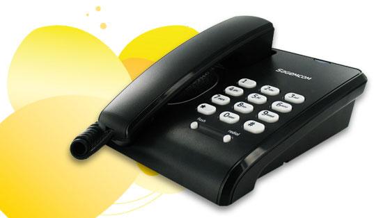 Sagem C-100 Festnetz-Telefon um 9,99 € inkl Versand - bis zu 39% sparen
