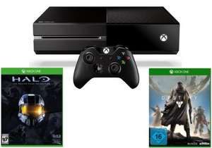 Xbox One Bundle: Konsole, 1 Controller, Halo - The Master Chief Collection, Destiny um 334,54 € - 33% Ersparnis