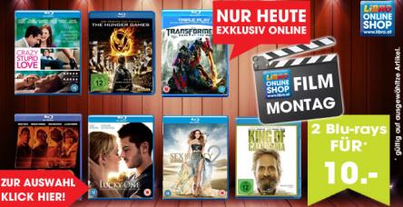 """Libro """"Film Montag"""": 2 BluRays um 10 € - bis zu 50% sparen"""