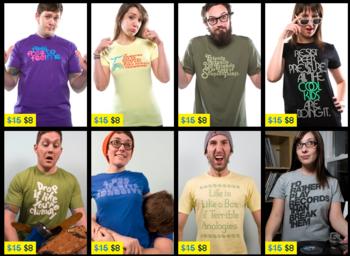 Neuer Threadless Sale: T-Shirts für 8$ + Versand
