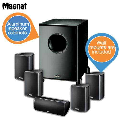 Magnat Needle 5.1 Lautsprecherset um 278,90 € - mind. 10% Ersparnis