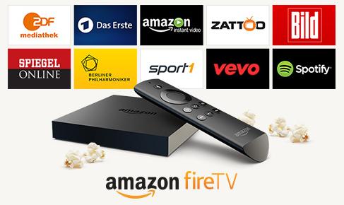 Amazon Fire TV für Prime Kunden um 49€ statt 99€