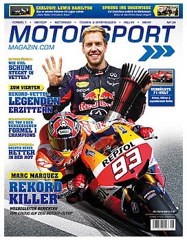 1 x Ausgabe des Motorsport Magazin kostenlos und ohne Kündigung