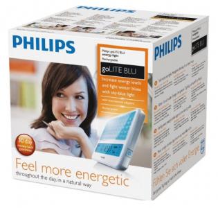 Philips Lichttherapiegerät HF3330/01goLITE blue um 99 € bei Amazon - 32% Ersparnis