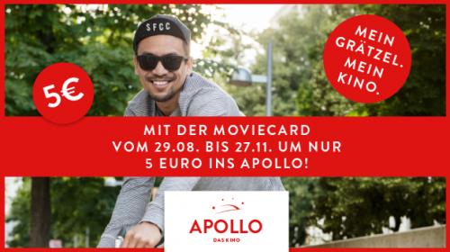 Ab 5 € ins Apollo Kino in Wien mit der Bluemovie Card bis 27. November 2014 (bis zu 35% sparen)