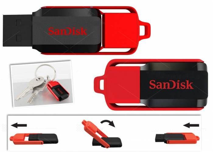 """Sandisk """"Cruzer Switch"""" USB-Stick (32 GB) um 9 € - bis zu 35% sparen"""