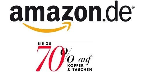 Amazon: bis zu -70% auf Reisegepäck und mehr