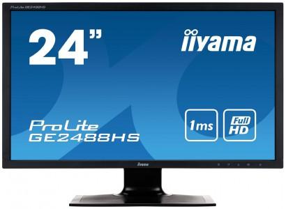 """iiyama ProLite """"GE2488HS-B1"""" LED-Monitor (24"""" FullHD, 1ms) um 134,85 € - 16% sparen"""