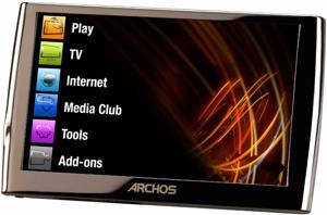 Archos 5g WiFi 30GB für 205€ bei mp3-player.de
