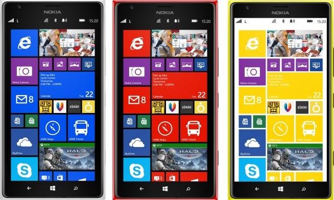 "Nokia Lumia 1520 (6"" IPS-FullHD, LTE, 32GB, 20MP) um 329,99 € inkl Versand - 33% sparen"