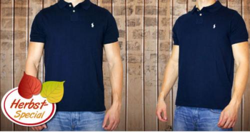 Ralph Lauren Poloshirt in blau (S-XXL) um 39,95 € inkl Versand