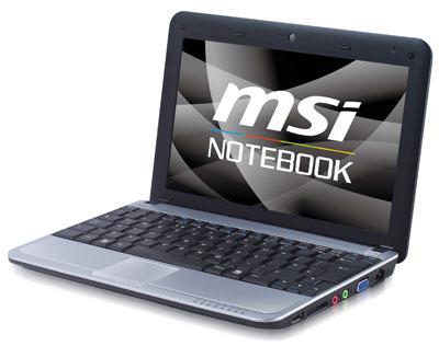 """10"""" Netbook MSI Wind U115 Hybrid Luxury für 429€"""