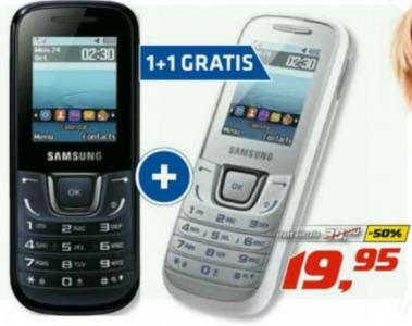 2 x Samsung E1280 (schwarz oder weiß) um 19,95 € - bis zu 43% sparen