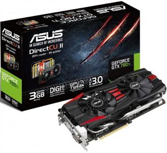 """Asus """"GTX780TI"""" (3 GB) Grafikkarte um 354,85 € - bis zu 29% sparen"""