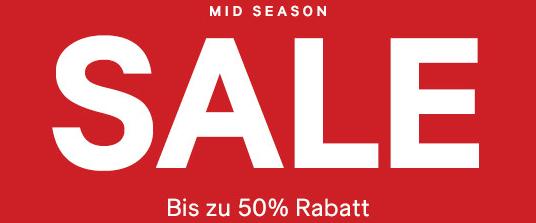 H&M: Midseason Sale mit bis zu 50% Rabatt + 25% Rabatt auf einen Wahlartikel
