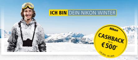 Nikon Österreich: bis zu 200 € Cashback auf Kameras und Objektive *Update* Nikon D5300 mit 30% Rabatt