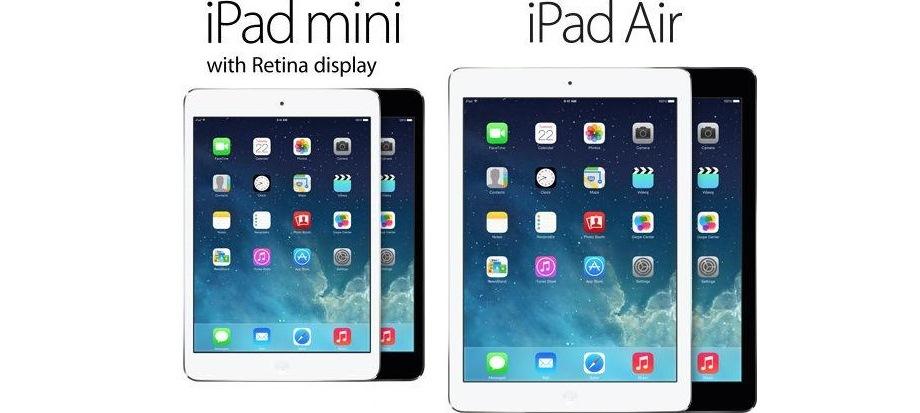 Apple Preissturz: iPad mini 2 ab 279 € und iPad Air ab 382 € - 20% sparen