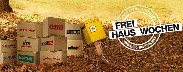 """""""Freihauswochen"""" bei der Österreichischen Post - Gratisversand in 50 Online-Shops"""