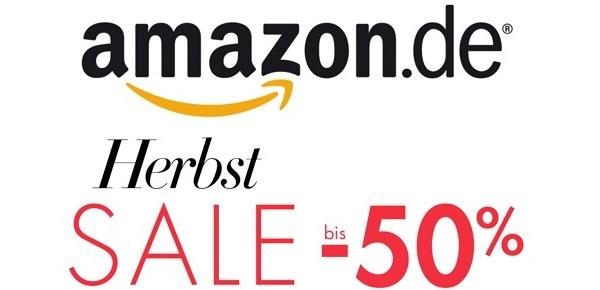 """Amazon """"Herbst Sale"""" auf Bekleidung, Schuhe und Handtaschen - bis zu 50% sparen"""