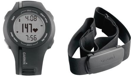 GPS-Uhr Garmin Forerunner 210 HRM inkl. Brustgurt für 99,00 € - bis zu 34% sparen