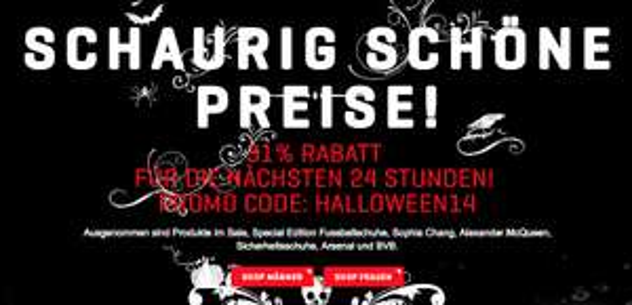 Halloween-Rabatte bei Puma und Frontlineshop - bis zu 31% sparen