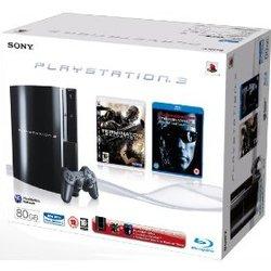 Super PS3-Bundles aus England! Konsole 80GB + 3 Spiele + Blu-Ray für 320€