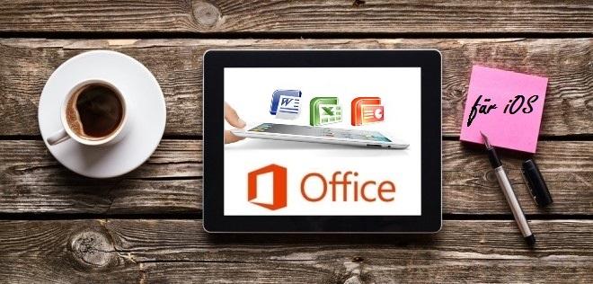 Microsoft Office für iOS: ab sofort kostenlos und ohne Abo