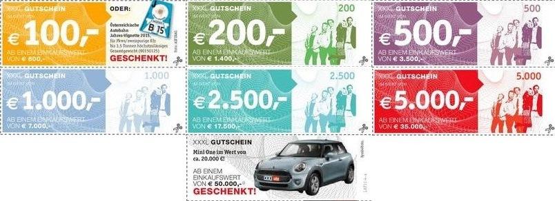 XXXLutz Österreich: mit Gutscheinen bis zu 17% sparen