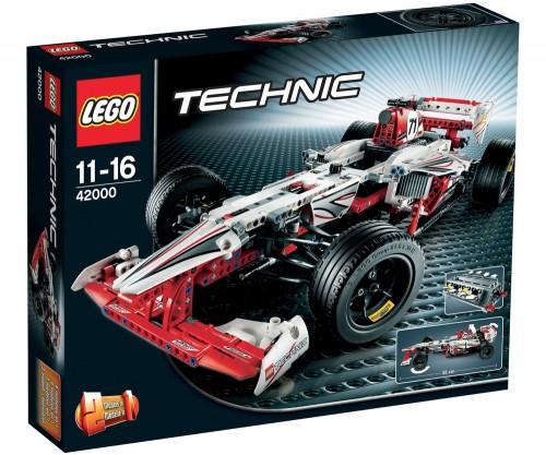 Geschenkidee: Lego Technik Grand Prix Racer (42000) für 53,99 € - 32% sparen