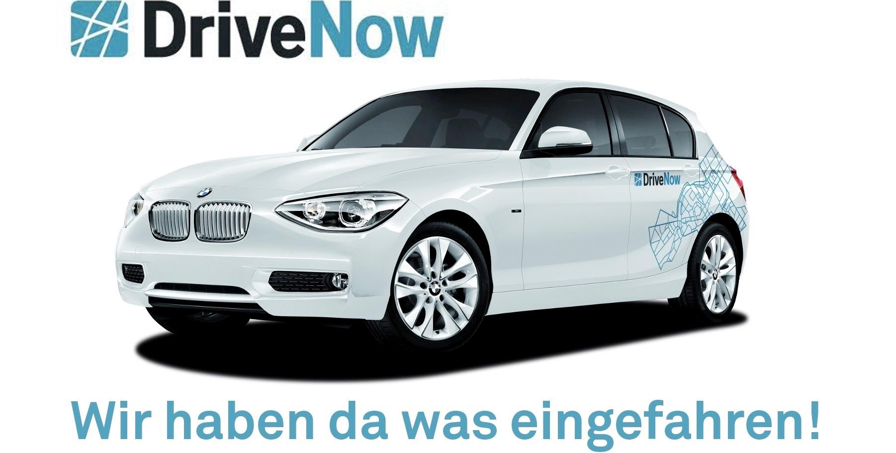 DriveNow: Anmeldegebühr + 60 Freiminuten um 9,90 € - bis zu 80% sparen