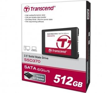 """Transcend """"SSD 370"""" interne SSD (512 GB) um 159,90 € - bis zu 21% sparen"""