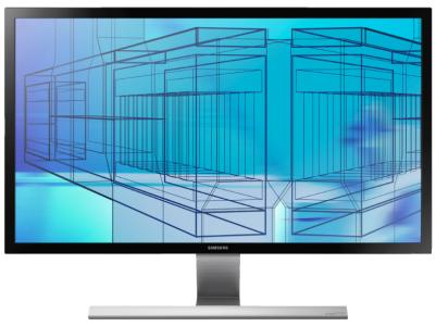 """4K-Monitor Samsung U28D590D (28"""", 2x HDMI, 1 ms) um 416 € *Update* jetzt für 327,99 € - 22% sparen"""