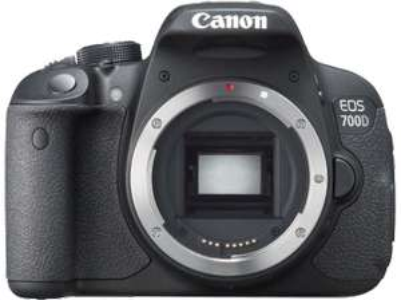 Canon EOS 700D (Gehäuse) um 362 € (einschließlich 40 € Cashback) - bis zu 18% sparen