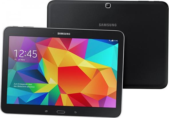 """Samsung Galaxy Tab 4 (10,1"""", 16 GB, WiFi) für 189 € - 19% Ersparnis"""