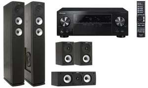 5.2 AV-Receiver Pioneer VSX-824 + Lautsprecherset Jamo S626 HCS 3 für 649 € *Update jetzt ab 535 €