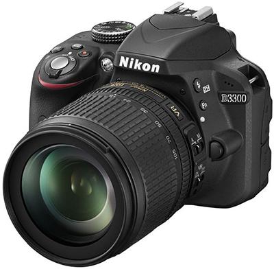 Spiegelreflexkamera Nikon D3300 mit 18-105-mm-Objektiv für 426 € - 19% sparen