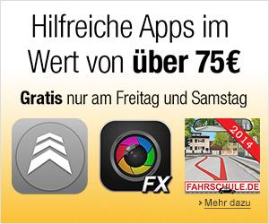 19 Android-Apps im Wert von mehr als 75 € gratis bei Amazon