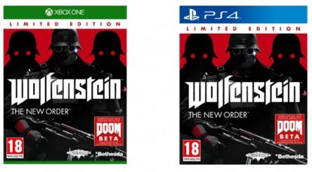 Wolfenstein: The New Order für Playstation 4 oder Xbox One um je 25 € - 38% sparen