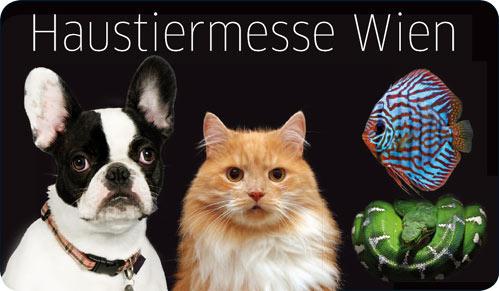 2 Tageskarten für die Haustiermesse Wien um 9,50 € - 50% sparen