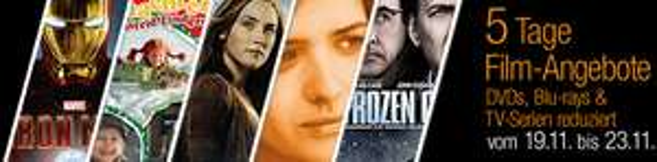5 Tage Film-Angebote bei Amazon mit reduzierten DVDs, Blu-rays und Box-Sets