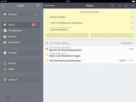iOS-Aufgabenverwaltung Things aktuell kostenlos statt bis zu 17,99 €