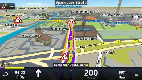 """""""Sygic Europa"""" Navigation um 30 € für iOS & Android - 50% sparen"""