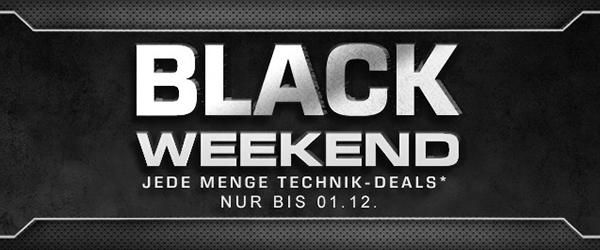 Black Weekend bei Saturn Deutschland mit einigen guten Angeboten