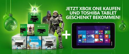 """Saturn: Xbox One kaufen und 7""""-Tablet gratis bekommen"""