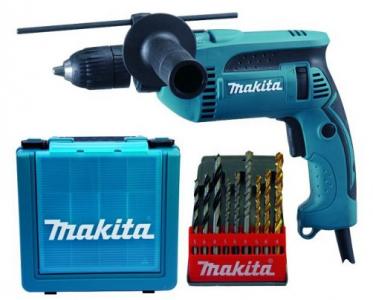 Makita HP1641K1X Schlagbohrmaschine inkl. Koffer und Bohrerkassette um 59,90 € - 33% sparen