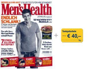 Men's Health Jahresabo für effektiv 1€