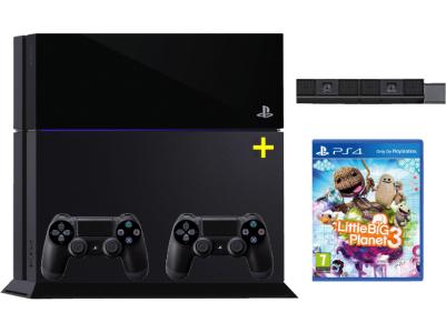 Playstation 4 Bundle: Konsole, 2 Controller, Kamera und Little Big Planet 3 um 459 € - bis zu 16% sparen