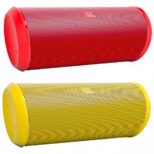 Bluetooth Lautsprecher JBL Flip 2 in rot und gelb um jeweils 72,72 € (inkl. Versand) – bis zu 15% sparen